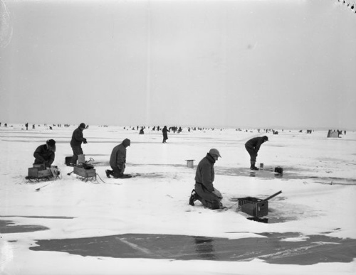 1940's - Lake Michigan.